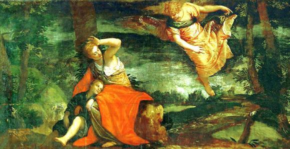 Aparição do Anjo - Paolo Veronese