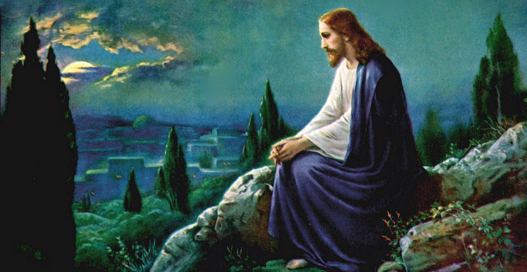 Jesus orando no jardim