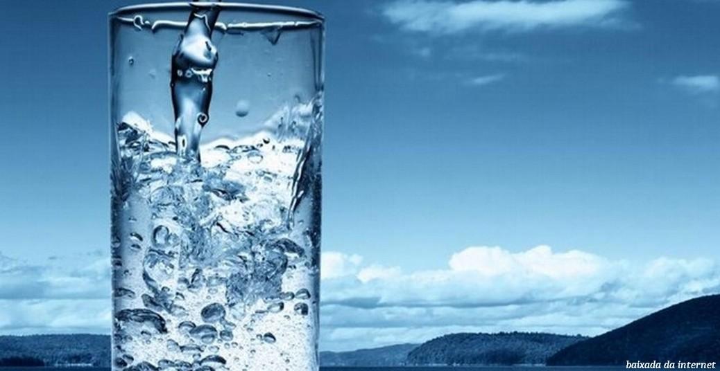 Copo de água fresca