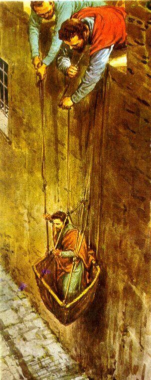 Paulo foge de Damasco