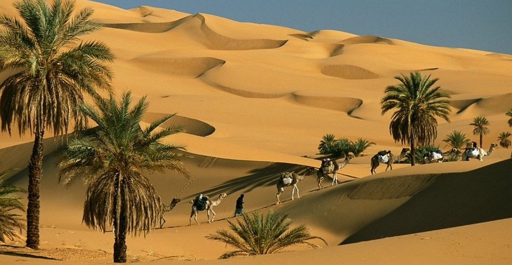 Rumo ao Deserto