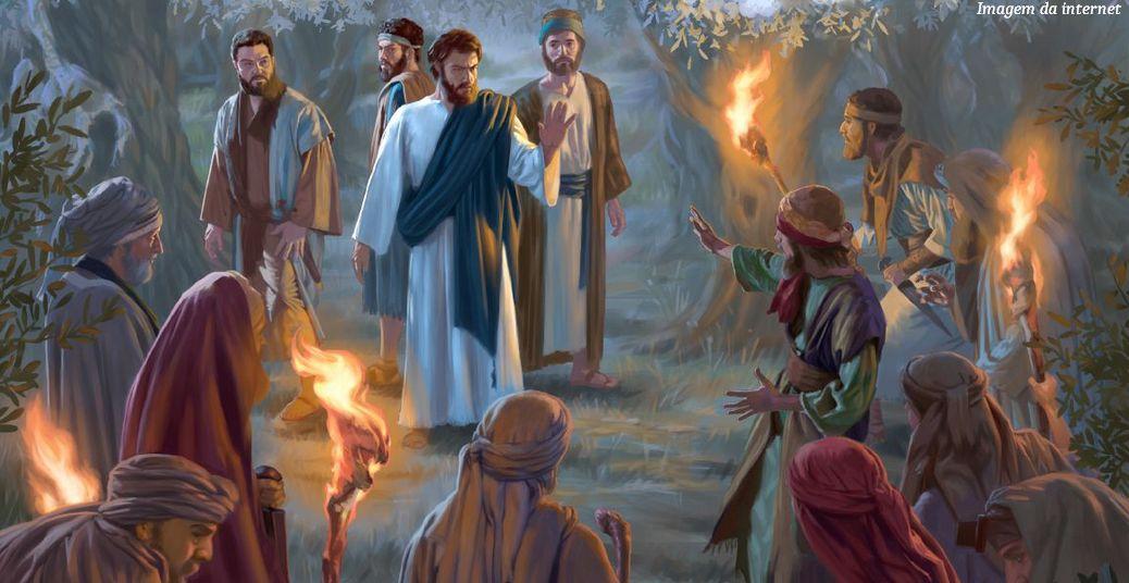 Jesus é traído por Judas
