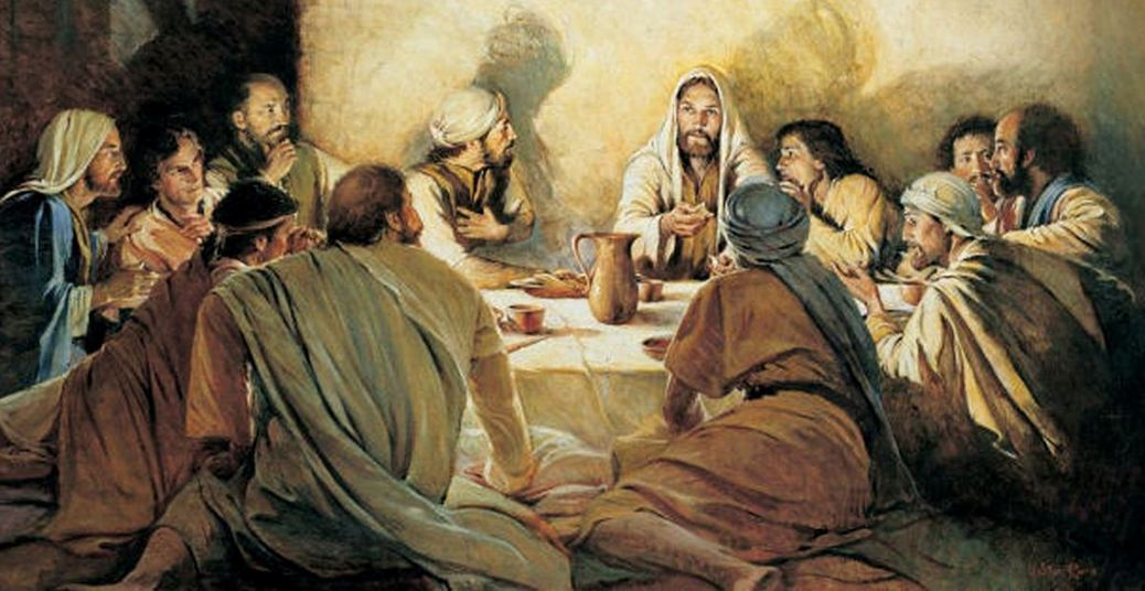 Jesus reúne os Discípulos para a Ceia