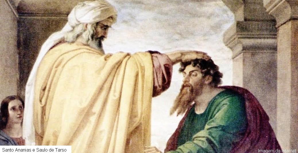 Ananias e Saulo de Tarso