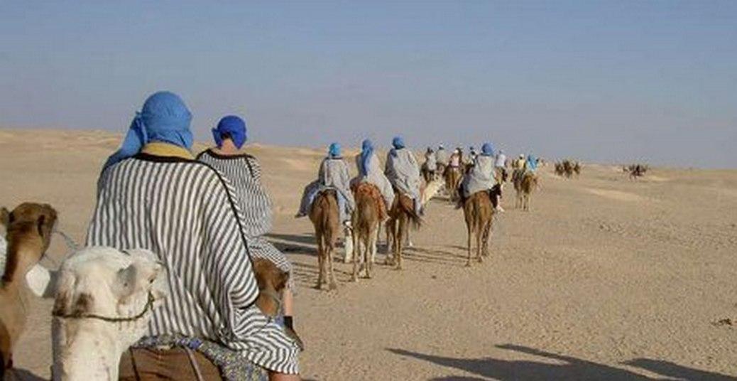 Caravana no Deserto