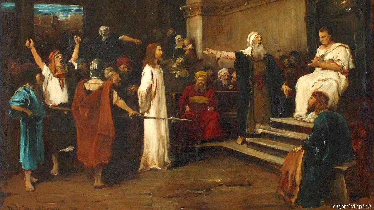 Jesus Cristo perante Pilatos