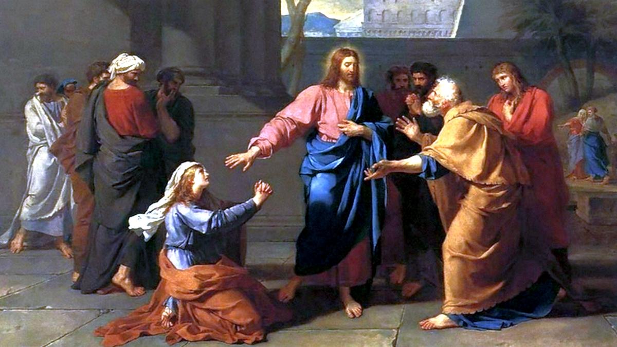Jesus e a mulher adúltera