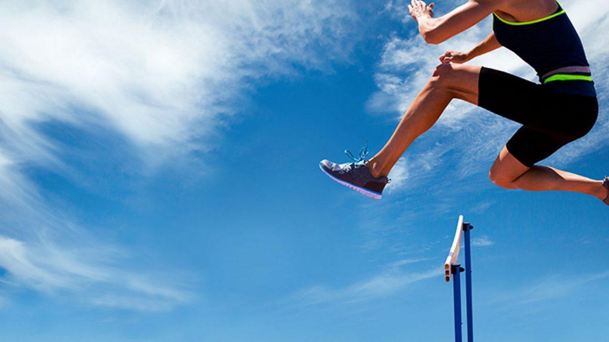 Salto acima dos obstáculos