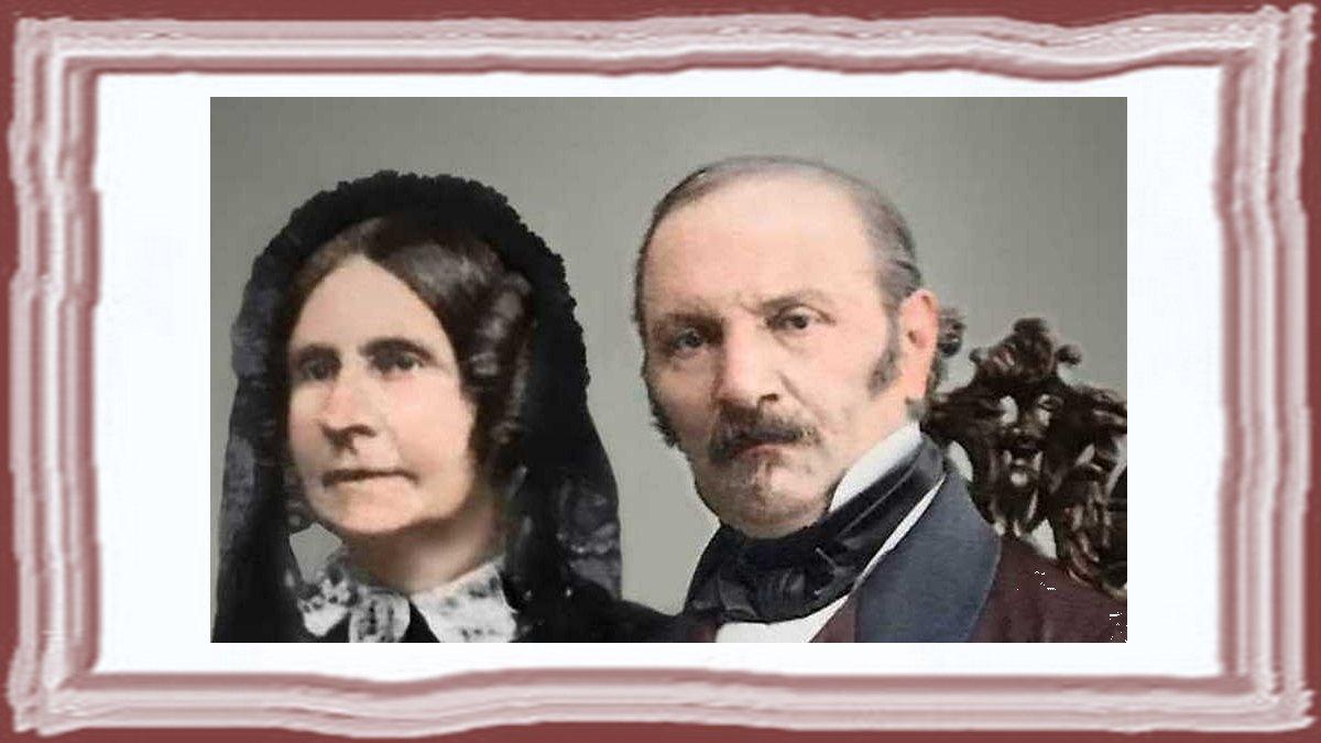 Allan Kardec e Amelie Boudet