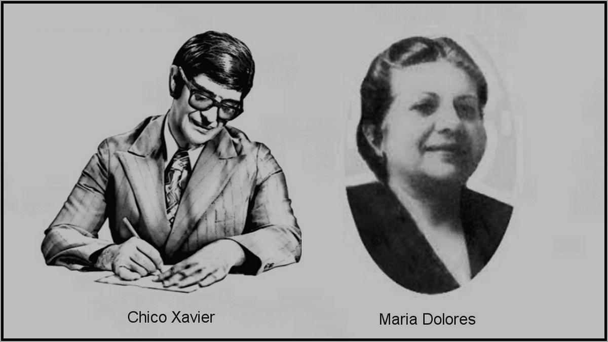 Chico Xavier e Maria Dolores
