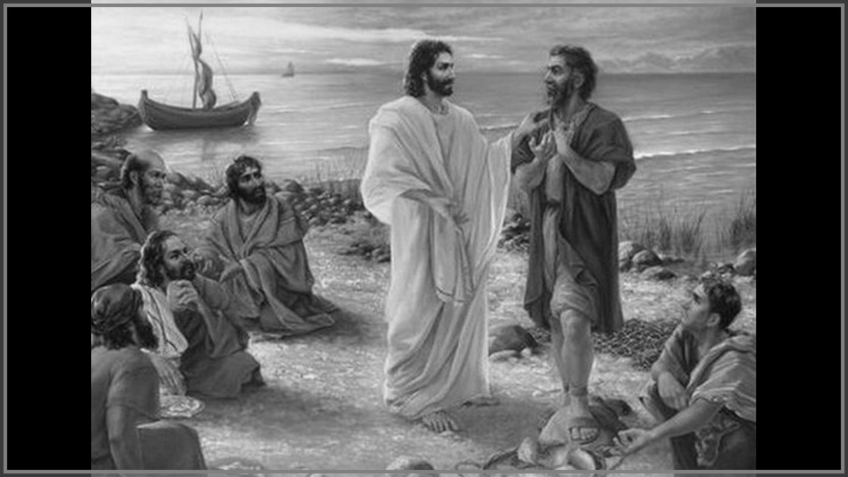 Jesus e Simão Pedro