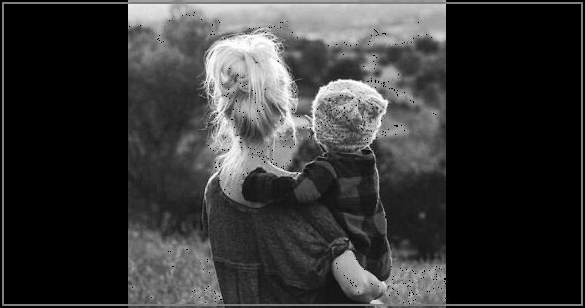 Solução natural - mãe e filho